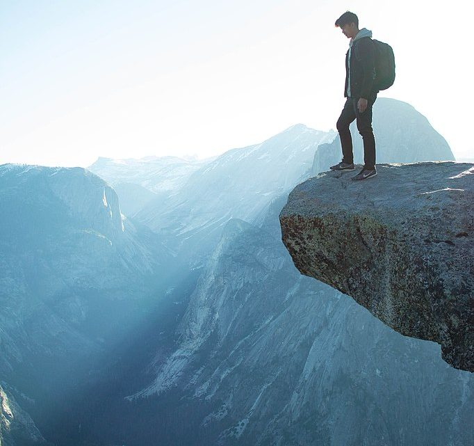 At The Edge Of The Precipice, Our Lives Have Greater Purpose